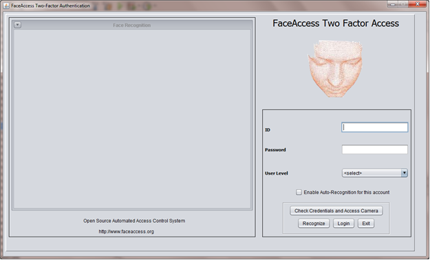 Real Time Face Recognition Java