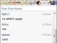 The ChatBar on a regular Facebook chat window