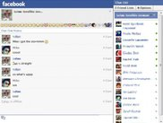 The ChatBar on a pop-out Facebook chat window
