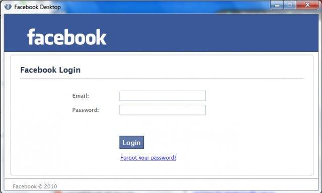 facebook app for windows 7
