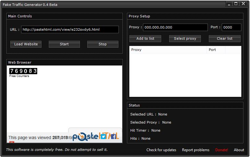 Fake Traffic Generator (Website Clicker) download | SourceForge net