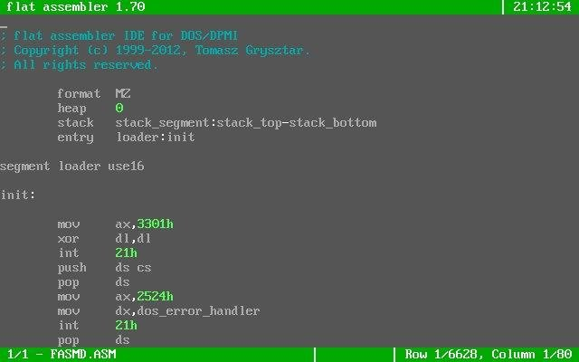 flat assembler download | SourceForge net