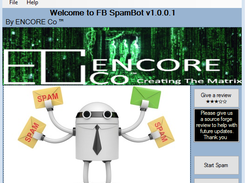 FB SpamBot by ENCORE Co download | SourceForge net