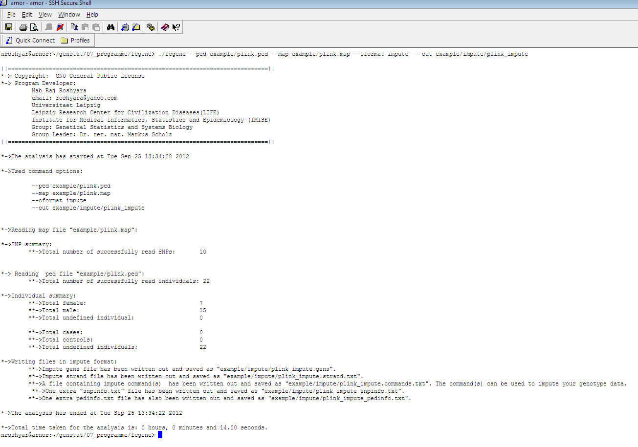 fcGENE: Genotype format converter download | SourceForge net