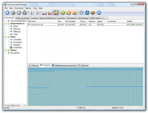 Free Download Manager Extended (FDMe) download | SourceForge net