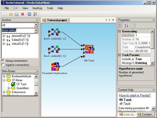 Ferda Data Miner x64 screenshot