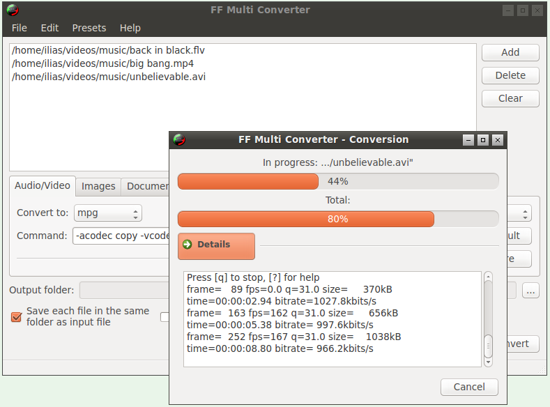FF Multi Converter download | SourceForge net
