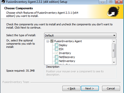 fusioninventory agent windows 32 bits