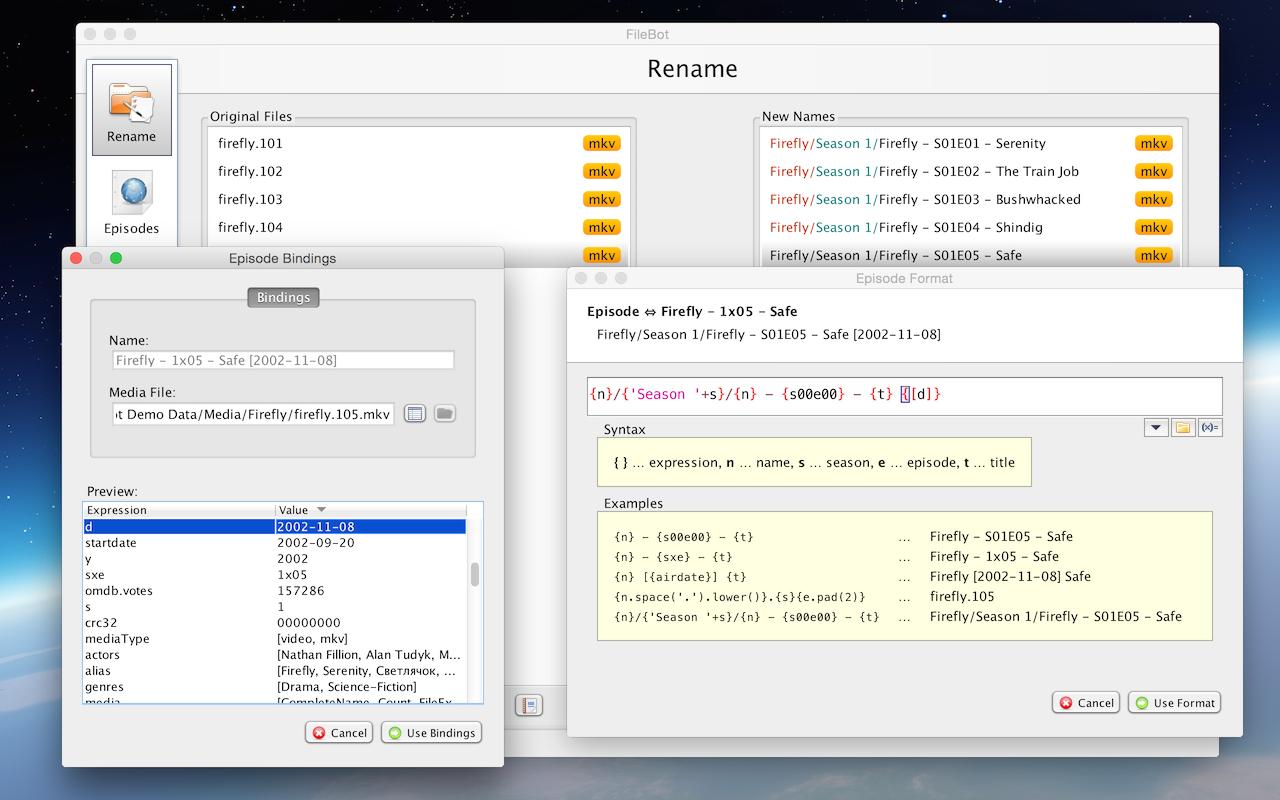 FileBot download | SourceForge net