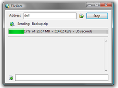 File transfer in progress
