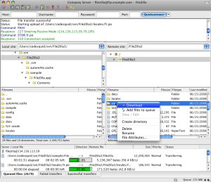 FileZilla® download   SourceForge net