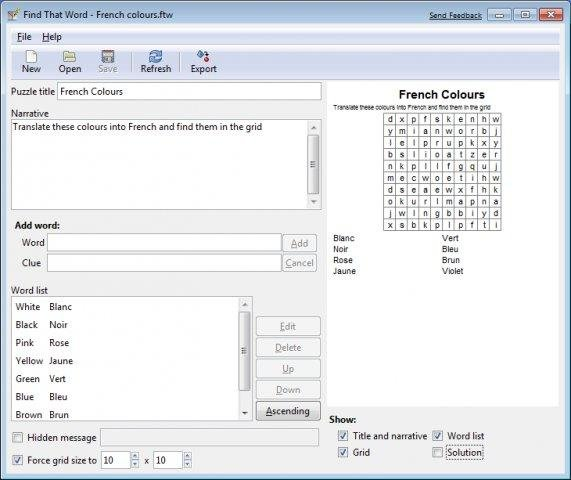 FindThatWord download | SourceForge net