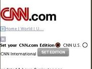 CNN.com in XHTML basic using Fire 2.0 XHTML Browser