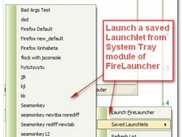 5. Launching a Mozilla based application from System Tray