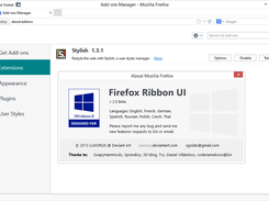 Firefox Ribbon UI