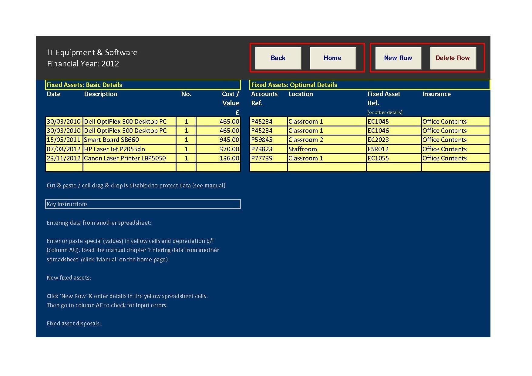 free asset database
