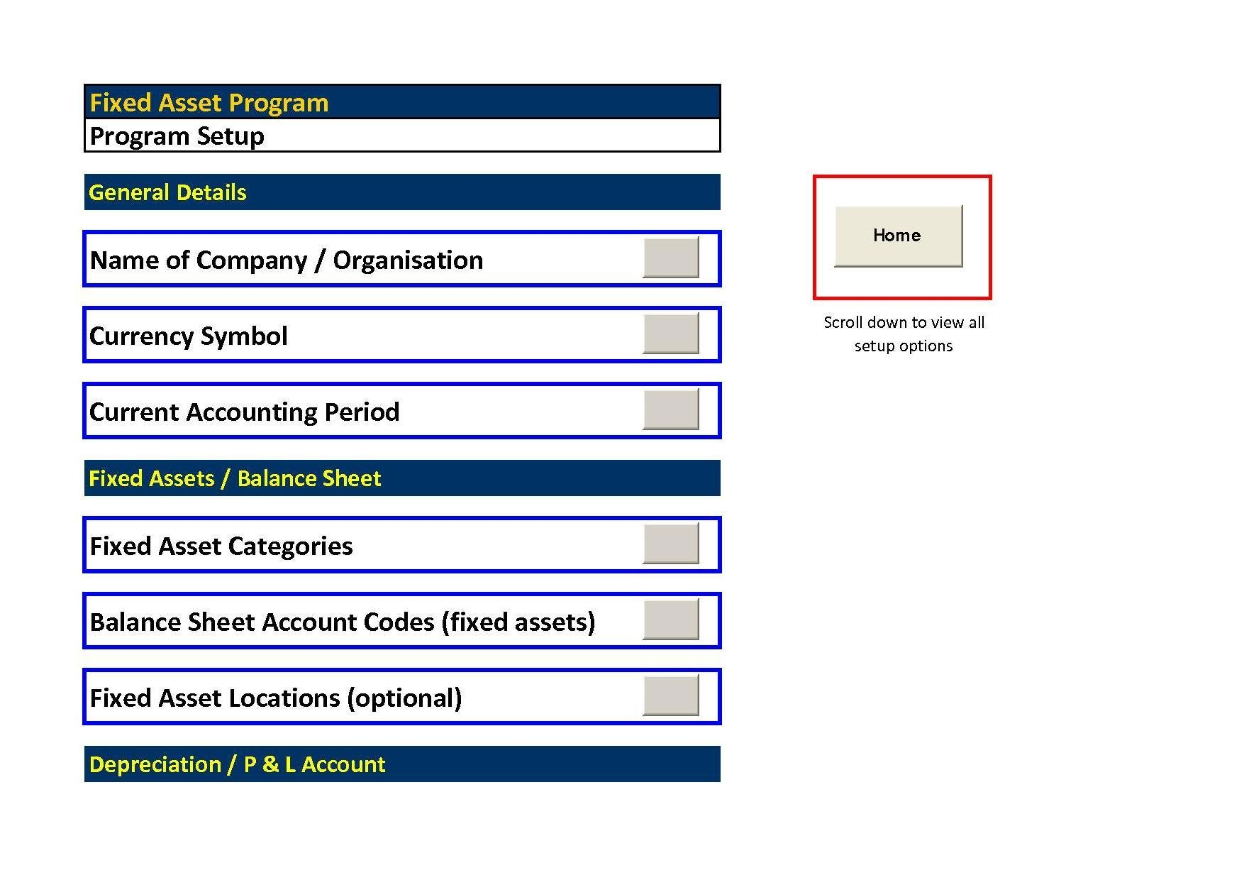 Fixed assets pro excel download sourceforge fixed asset report program setup pronofoot35fo Image collections