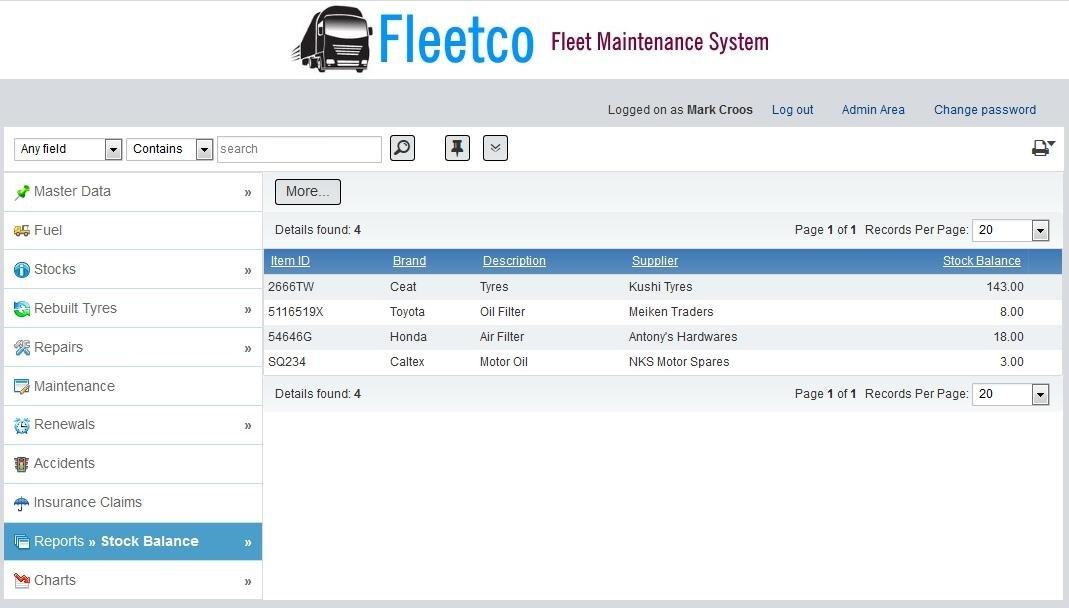 fleet maintenance app free