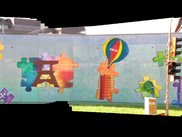Picture of a graffity wall, which is generated with Flycam out of 100 images.