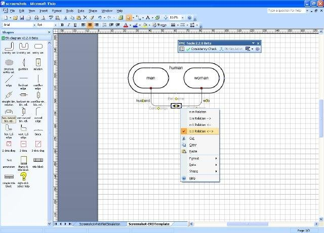 Fmc visio stencils download sourceforge template and stencils for entity relationship diagram erd pronofoot35fo Choice Image