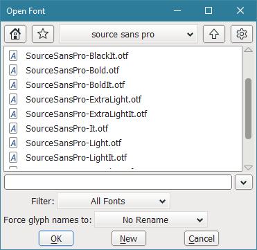 FontForge Windows builds download | SourceForge net