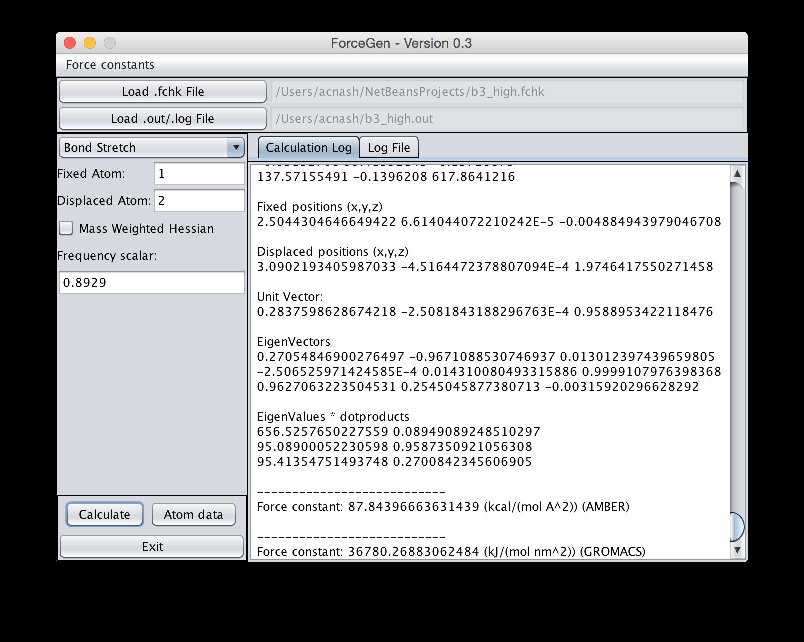 ForceGen download | SourceForge net