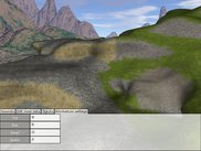 Different autotexturize settings applied on the terrain