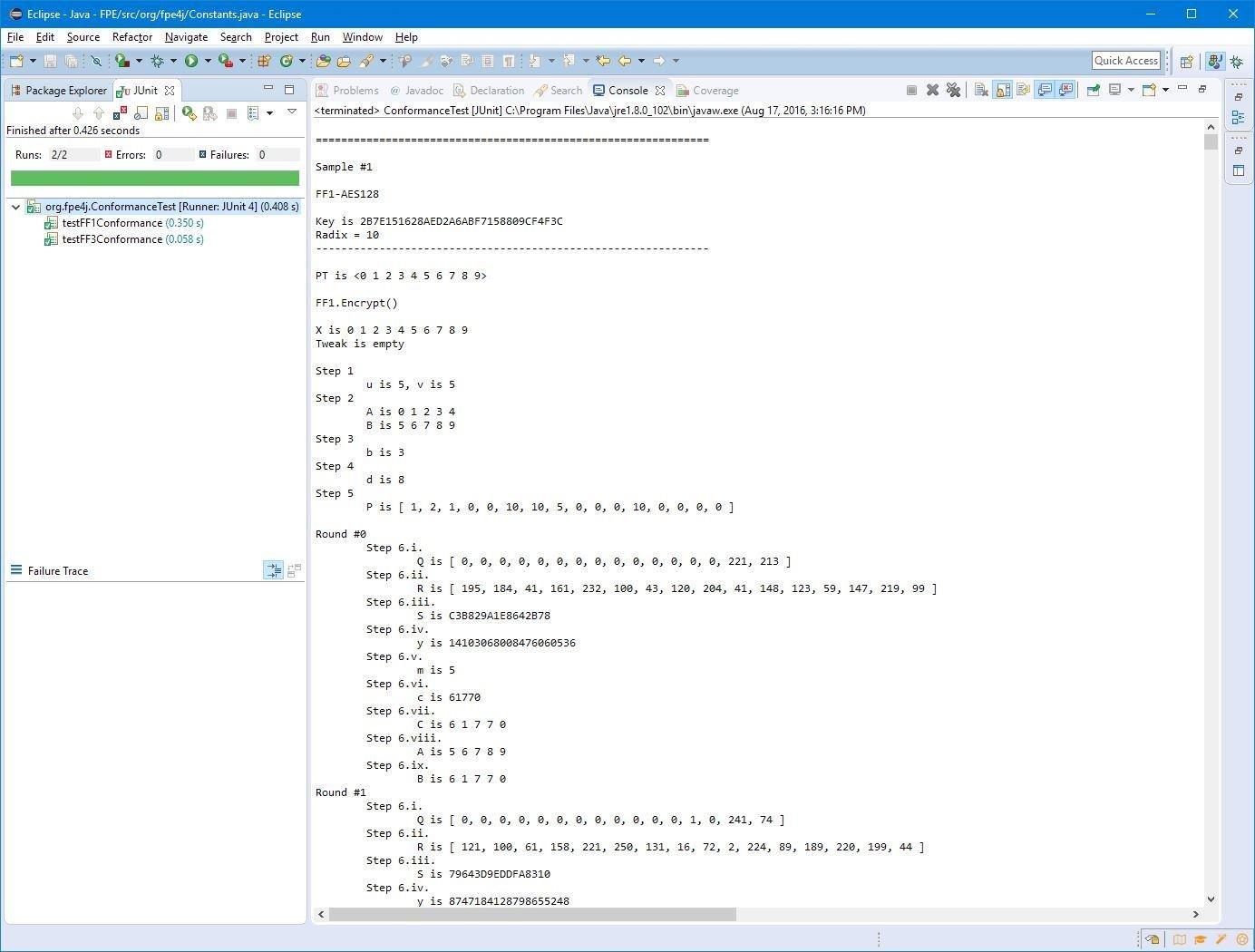 Format preserving encryption download sourceforge conformance test output matches nist sample data baditri Gallery