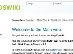 More info at: http://cli.gs/foswiki-screenshots