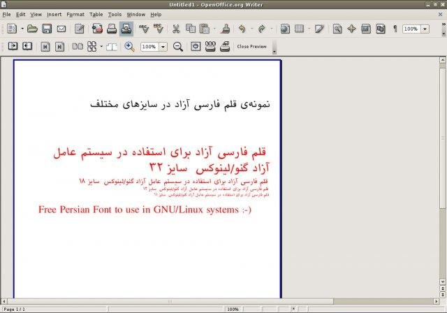 Free Persian Font Download Sourceforge Net