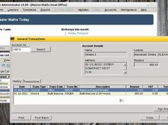 Commercial admin and debtors system under Linux.