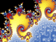 Mandelbrot fractal generated by FractalNow