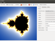QFractalNow running on Ubuntu 12.04
