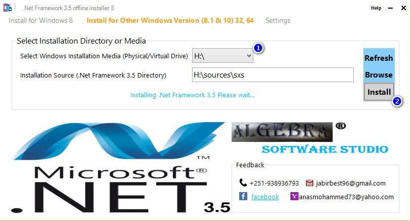 net framework 3.5 32 bit