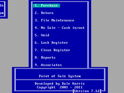 Point Of Sale (POS) running on FreeDOS