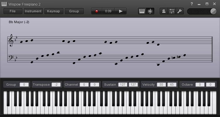free piano sourceforgenet