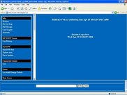 Web control panel main screen part 1