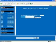 Web control panel main screen part 2