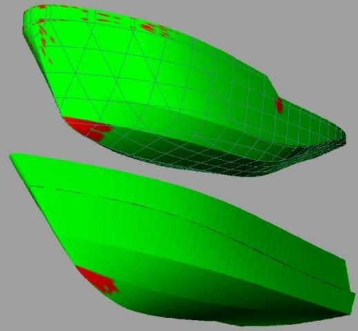 Freeship download sourceforge green parts of the surface are developable red are not malvernweather Choice Image