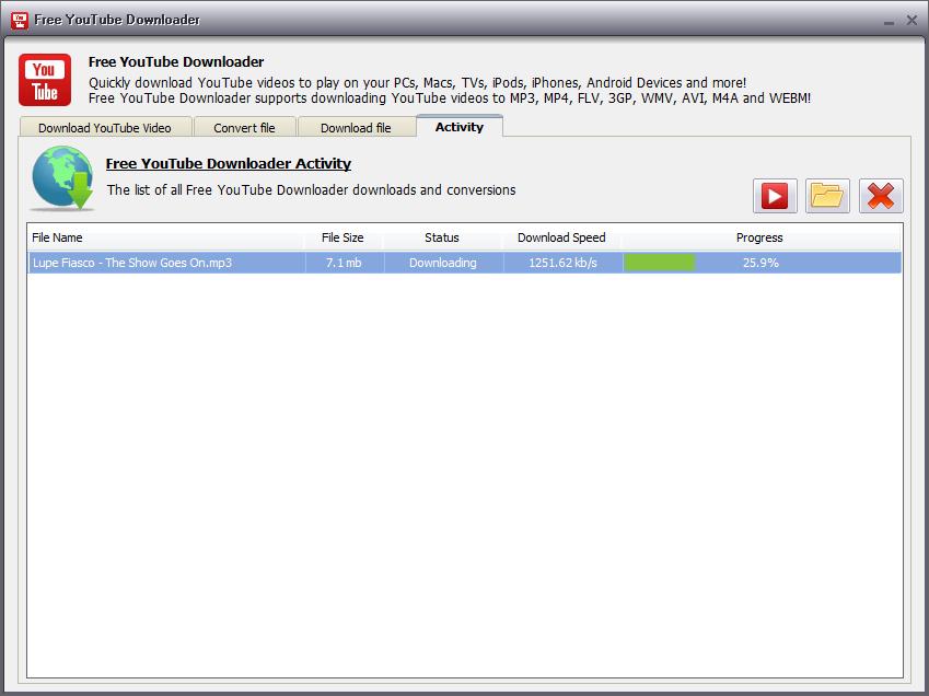 Free YouTube Downloader download   SourceForge net