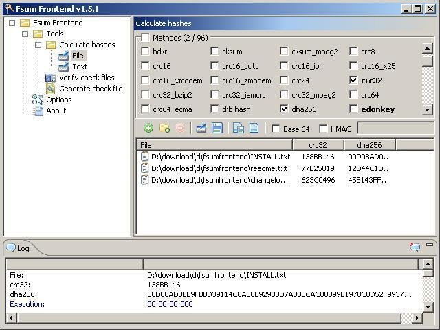 Fsum frontend download   SourceForge net
