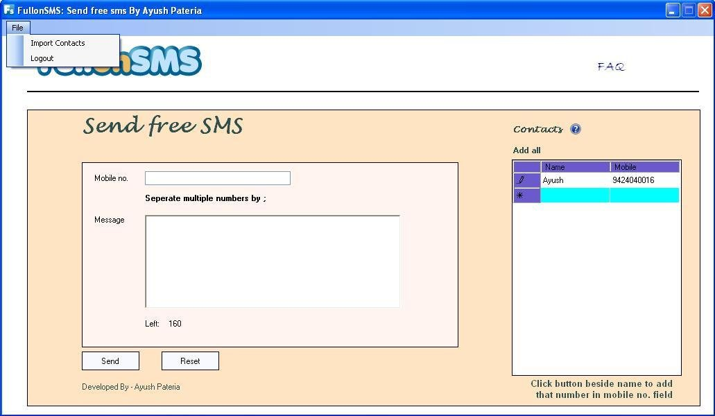 FullonSMS software download | SourceForge net
