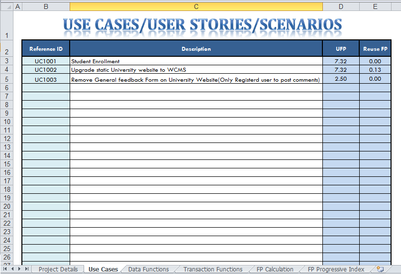 case study format UI Case Studies