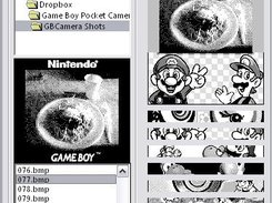 Funtoshop - The Game Boy Camera's Photoshop! game, boy, gb, gbc, gbcam, gameboy, camera, 8bits, 2bits, pixels, black, white, photoshop, photo, editor, madcatz, link, serial, port