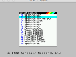 Fuse - the Free Unix Spectrum Emulator download