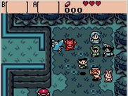 The Legend of Zelda: Oracle of Ages in Gambatte Qt on Linux