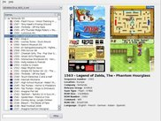 Listing of NDS Game DAT from advanscene