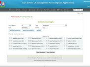 2.Attendance Page in faculty login