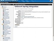 GASwerk Spring installation in Geronimo 2.0-M6-rc3