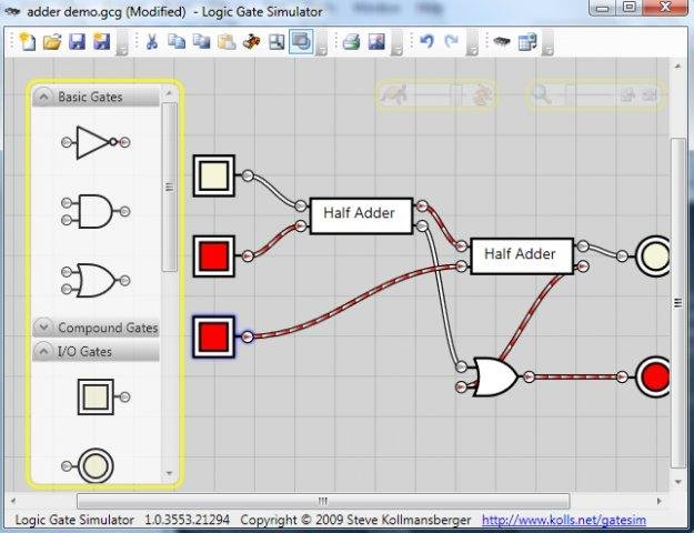 Logic Gate Simulator download | SourceForge.net
